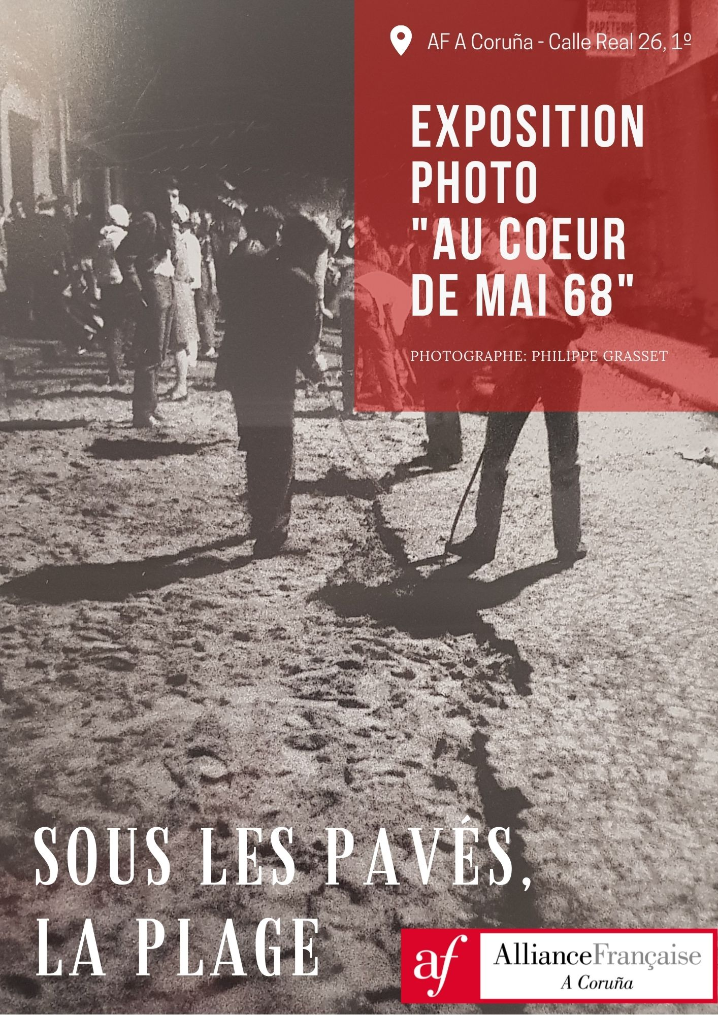 "Expo photo: ""Au coeur de mai 68"" de Philippe Grass"